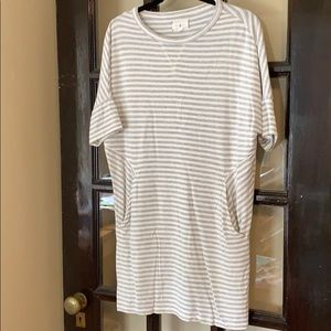 Loft Lou & Grey striped tunic dress